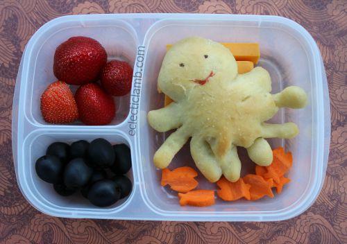 Octopus Bread Lunch