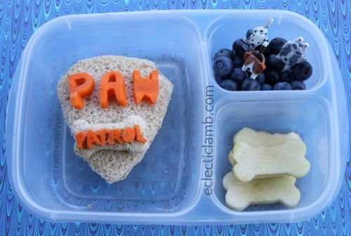 Paw Patrol Sandwich Lunch