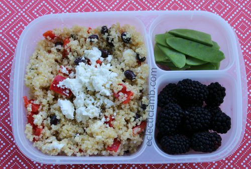 Quinoa Salad for Lunch