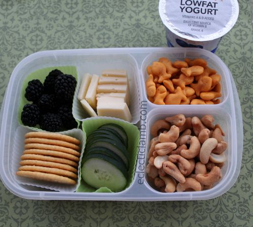 Snack Lunch with Yogurt