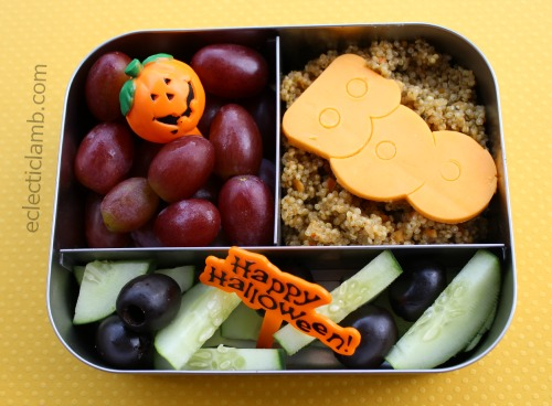 Halloween Themed Lunch