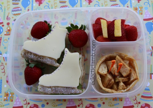 Ice Skate bento lunch