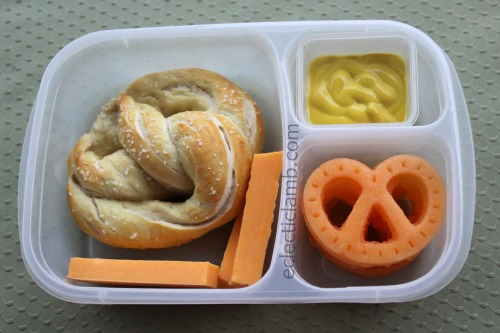 Pretzel Shaped Lunch