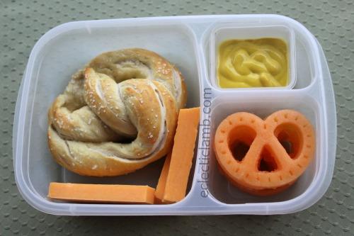 Pretzel Shaped Lunch
