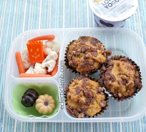 Pumpkin Muffin Lunch