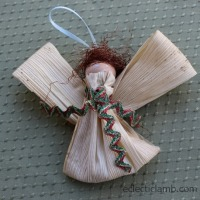 Corn Husk Angel Tutorial Food and Crafts