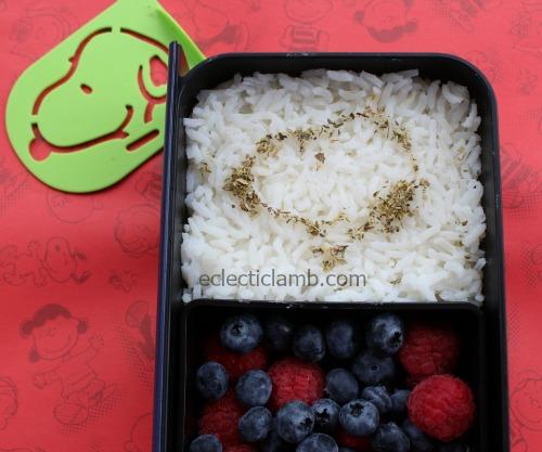 Snoopy Stencil Rice