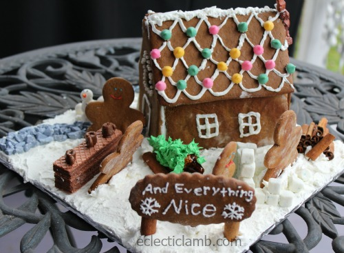 And Everything Nice Gingerbread House