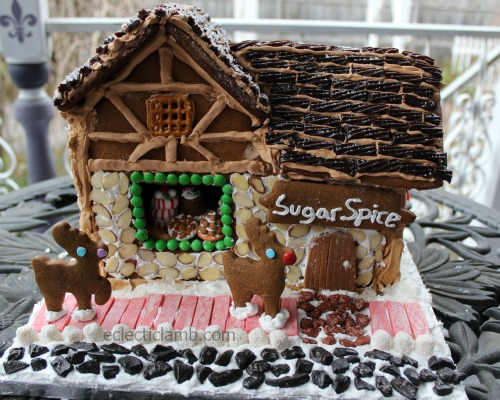 Gingerbread Bakery Front