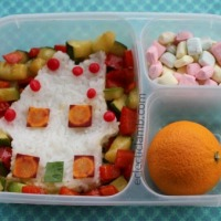3 Gingerbread Houses and a Bento Lunch