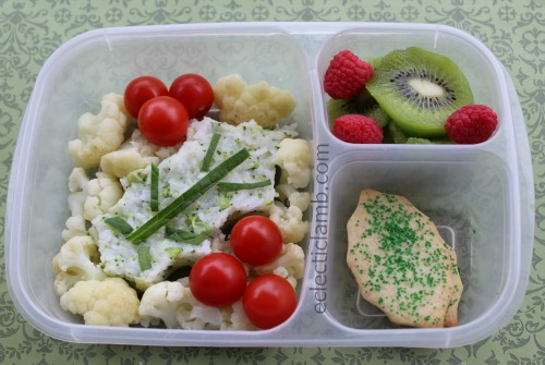 Holly Onigiri Bento Lunch