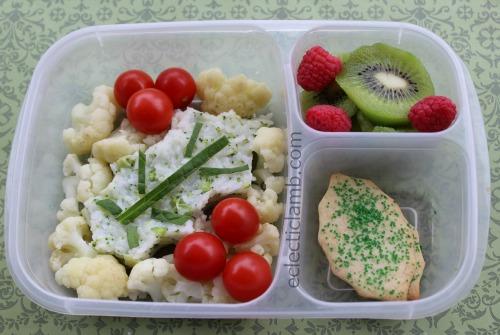Holly Onigiri Bento Lunch