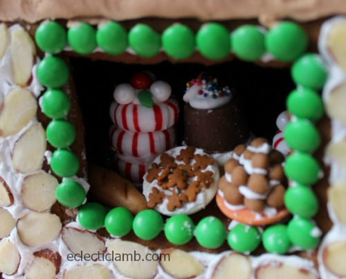 Miniature sweets bakery window