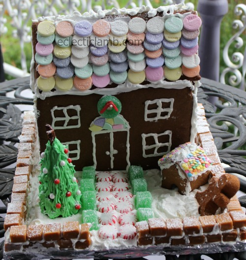 Necco Gingerbread House Front