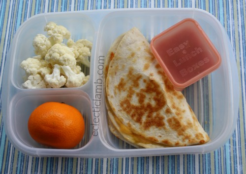 Easy Quesadilla Lunch