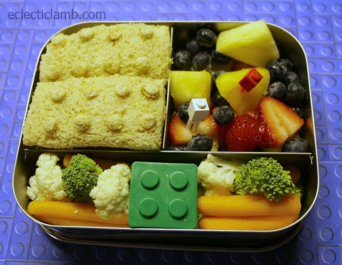 Lego Sandwich Lunch