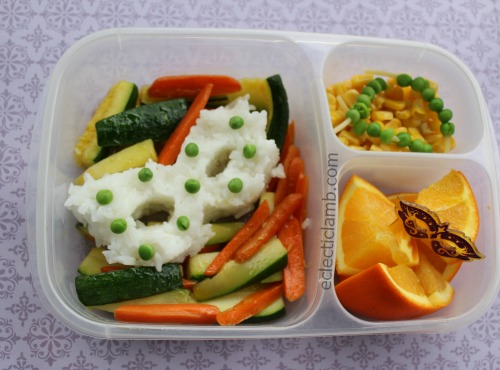 Mardi Gras Bento Lunch