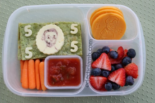 Abe Lincoln Money bento lunch
