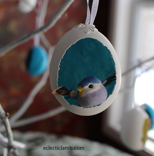 Bird Easter Egg Ornament