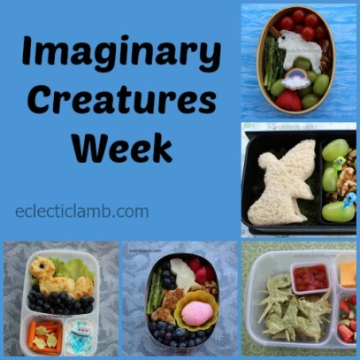 Imaginary Creatures Food Collage