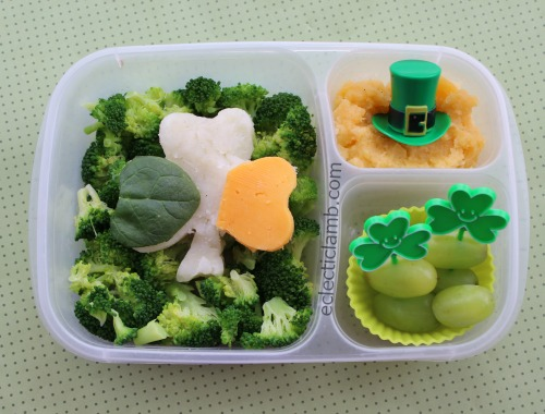irish flag st patricks day lunch