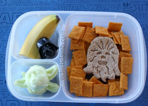 chewbacca and yoda lunch