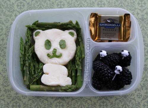 Panda Mashed Potatoes
