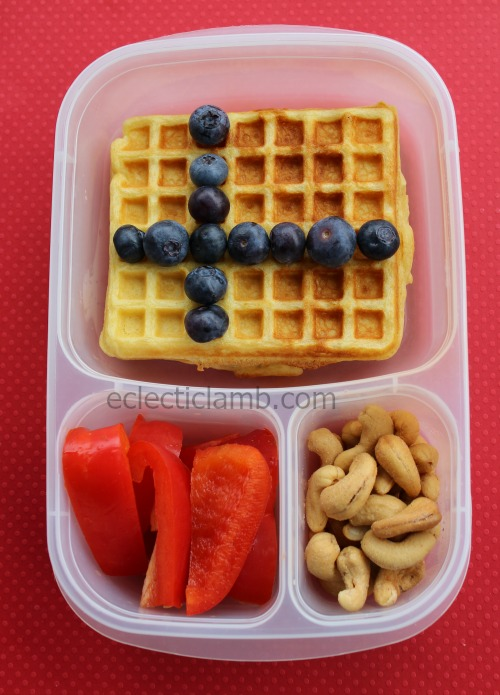 Finland Flag Waffle Lunch