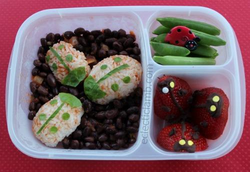 Ladybug Rice Lunch