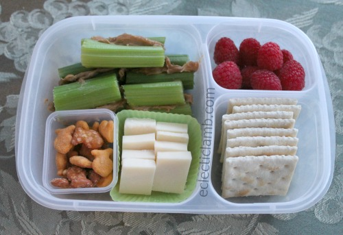 pb celery snack lunch