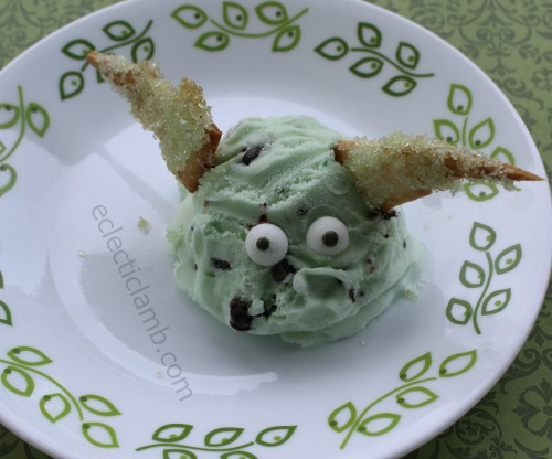yoda ice cream sanding sugar ears