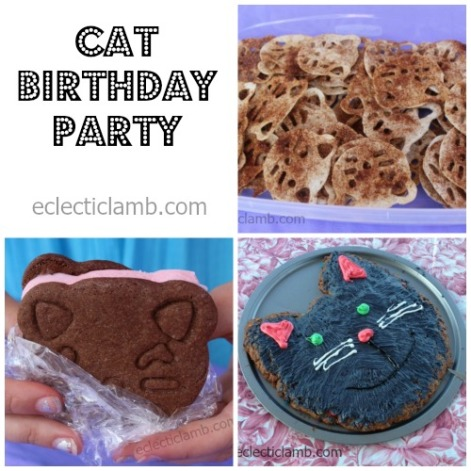 Cat Birthday Collage