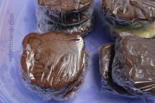 Cat Chocolate Chocolate Ice Cream Sandwiches
