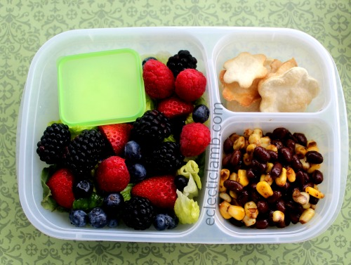 fruit-with-romaine-corn-black-bean-lunch