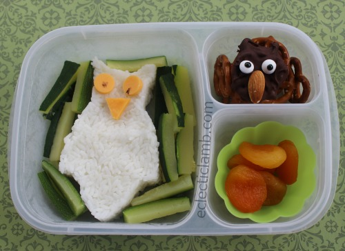 owl-rice-lunch