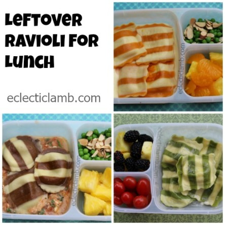 leftover-ravioli-for-lunch