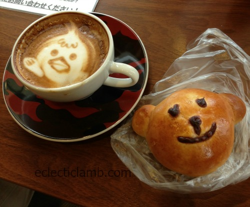 latte-art-and-bear-bread