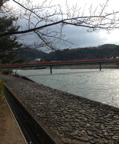 River in Uji Japan