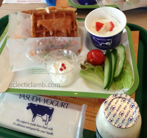 yasuda-yogurt-cow-waffle-meal