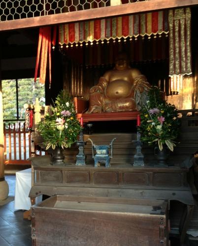 Hotei Statue