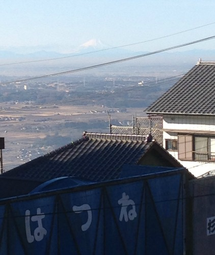 Mt Fuji in Distance