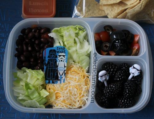 Dark Side Force Taco Salad