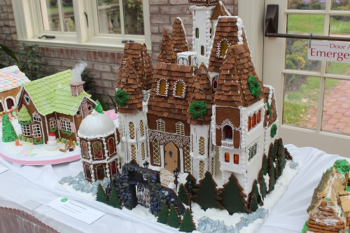 Beauty and Beast Gingerbread House