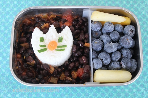 Cat Onigiri Lunch
