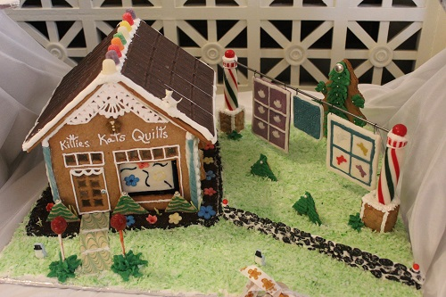 gingerbread quilt shop