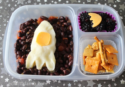 Rocket Potato Lunch