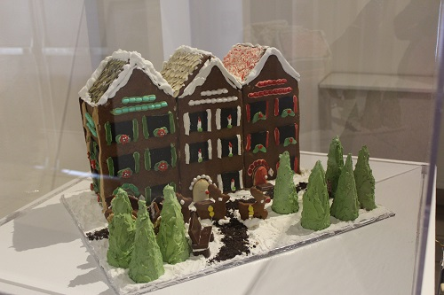 Row Houses Gingerbread