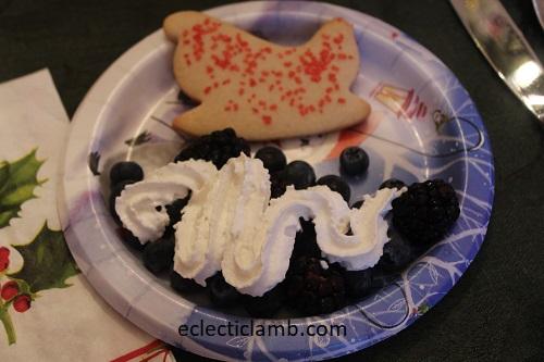 Easy sleigh dessert