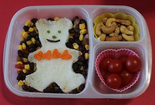 Rice Valentine Bear Lunch