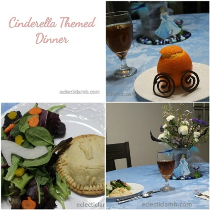 Cinderella Dinner Collage